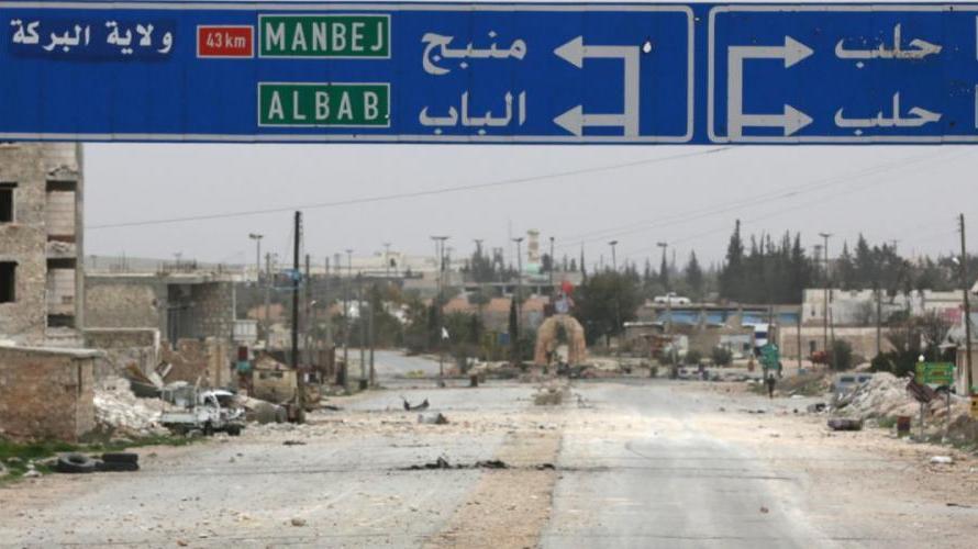 مقتل 3 أطفال بانفجار لغم في مدينة منبج السورية