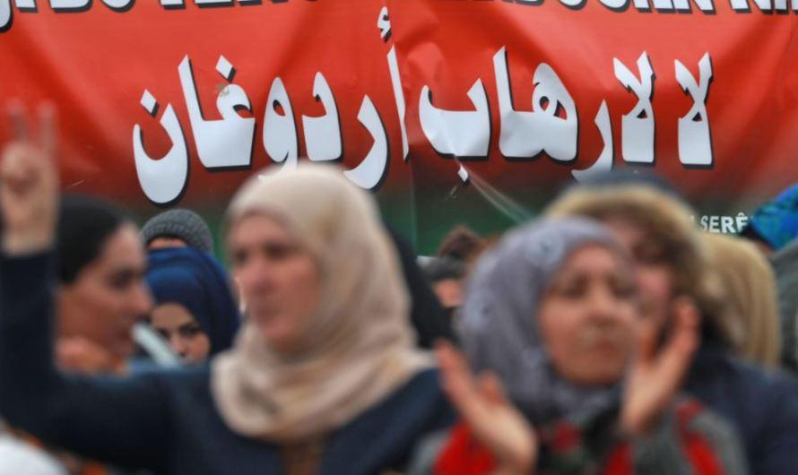 """أردوغان يتودد لبايدن برسالة تهنئة عنوانها """"السلام"""" فيما قواته تواصل اشعال الحروب في 5 دول"""