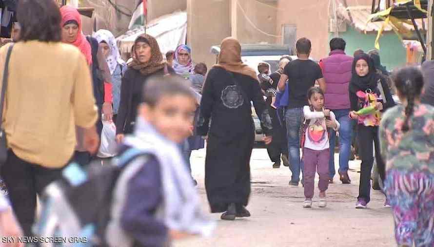 أوضاع إنسانية صعبة لفلسطينين نزحوا إلى شمال سوريا عبر اتفاقيات رعتها تركيا