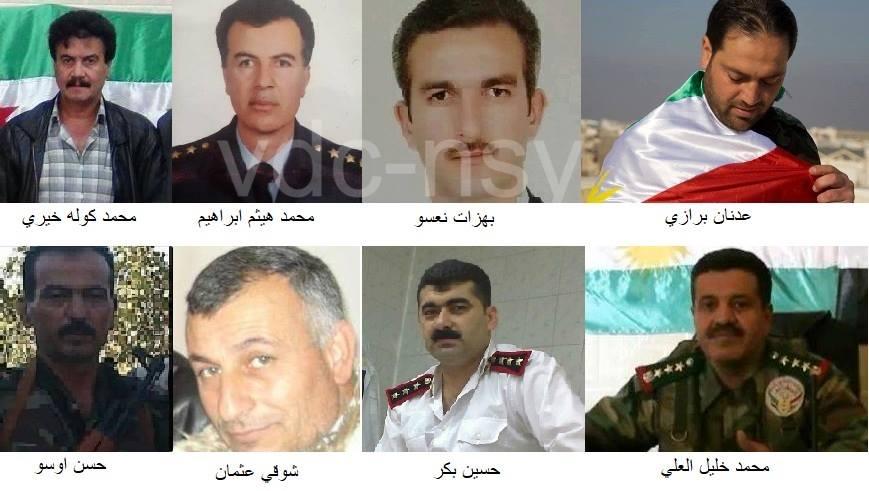 6 سنوات ومصير مجهول للضباط الكرد الثمانية