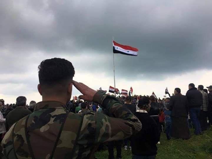 احتفالية بحضور محافظ حلب في بلدة تلرفعت بريف حلب