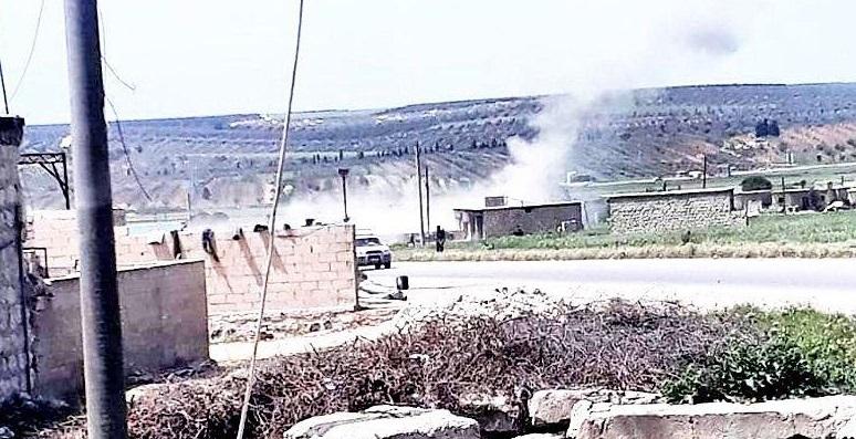 لليوم الثالث على التوالي…القوات التركية تقصف قرى بريف حلب