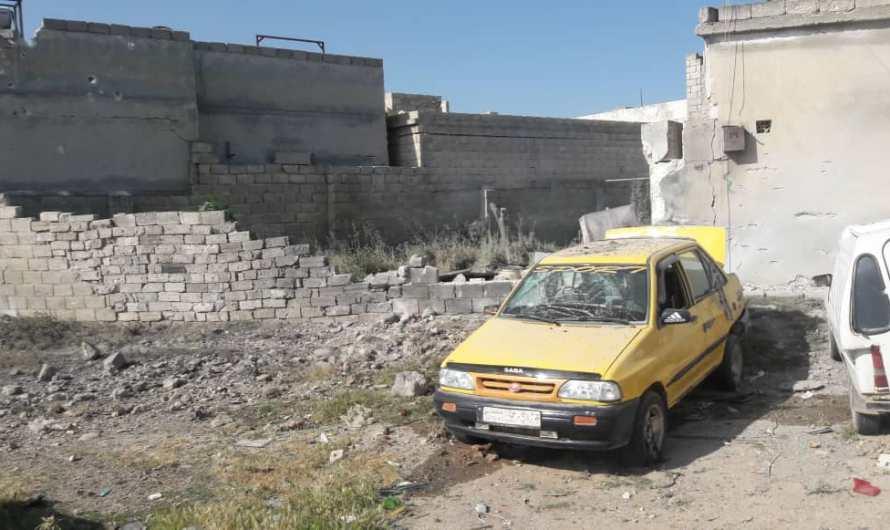 جرحى في تجدد القصف التركي على قرى في ريف حلب