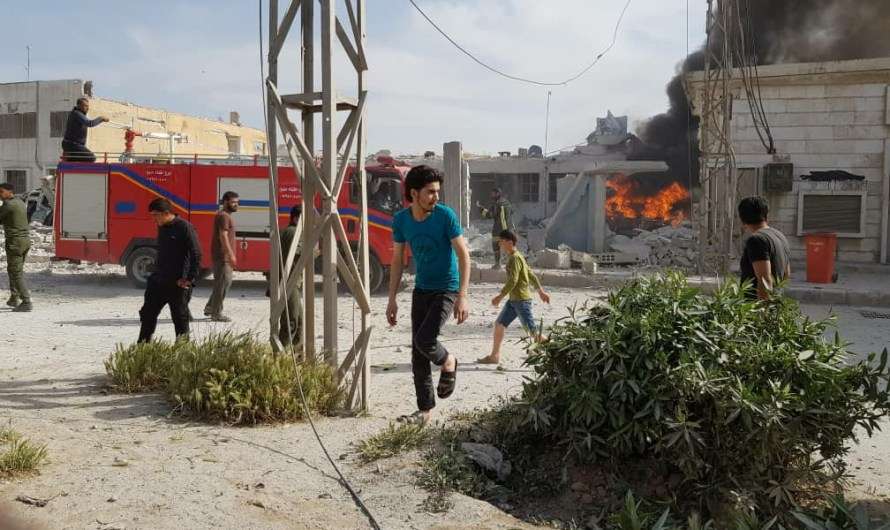 ضحايا في انفجار يهز مدينة منبج السورية استهدفت مقر أمني