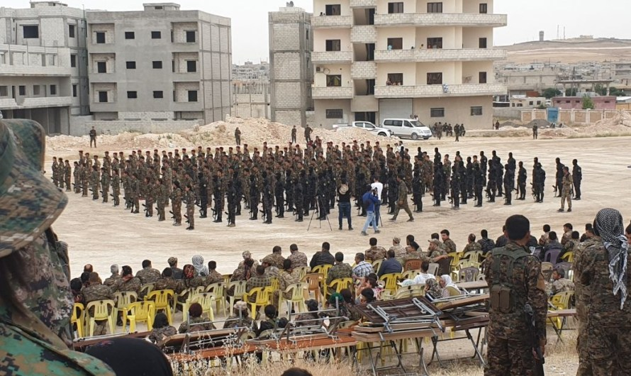 """قوات سوريا الديمقراطية تحذر من """"حرب شاملة"""" ردا على أي هجوم تركي"""