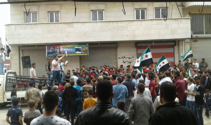 اعتقال متظاهرين طالبوا بحل المجالس المحلية الخاضعة لتركية شمال سوريا