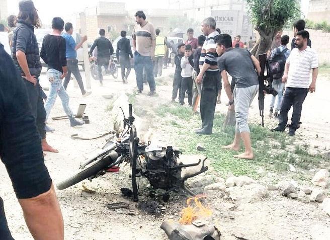 ضحايا في انفجار دراجة نارية مفخخة في مدينة جرابلس الخاضعة لسيطرة تركية
