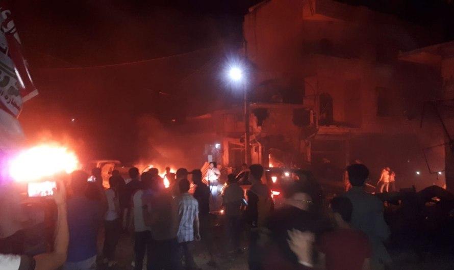 مقتل ما لا يقل عن 21 في انفجار سيارة بمنطقة خاضعة لتركيا شمال سورية