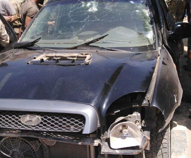 مقتل قيادي في الجيش الوطني الموالي لانقرة بانفجار لغم بسيارته وسط مدينة عفرين
