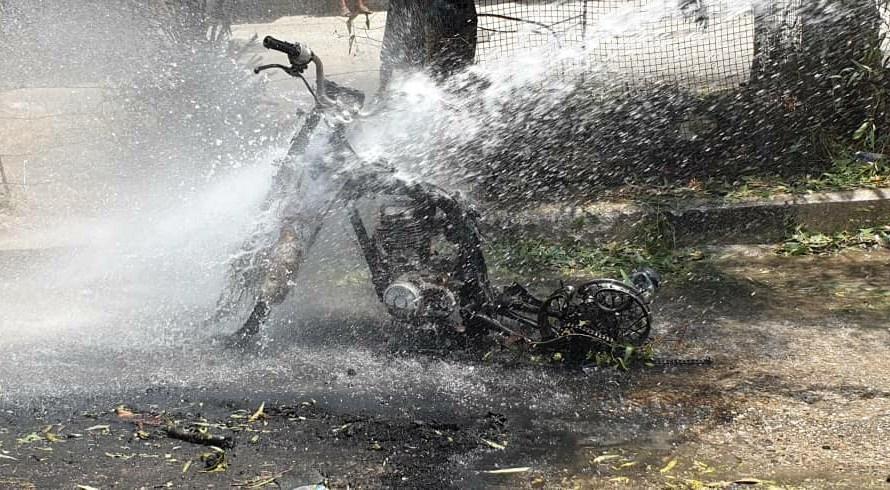 اضرار مادية بانفجار دراجة نارية مفخخة في الحسكة