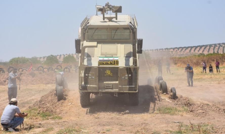 تركيا تبدأ بإنشاء معامل للأسلحة شمال سوريا