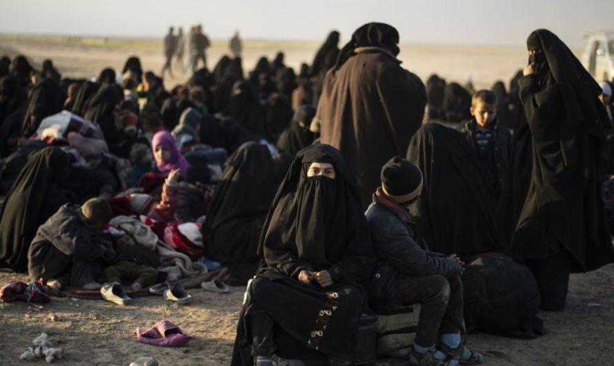 """""""نساء داعش"""" من الدولة الأوربية يناشدن حكومات بلادهم لاستعادتهن"""