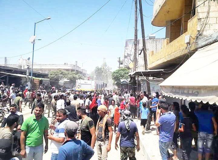 أربعة تفجيرات في المناطق الخاضعة لسيطرة تركيا شمال سورية واغتيال قائد عسكري