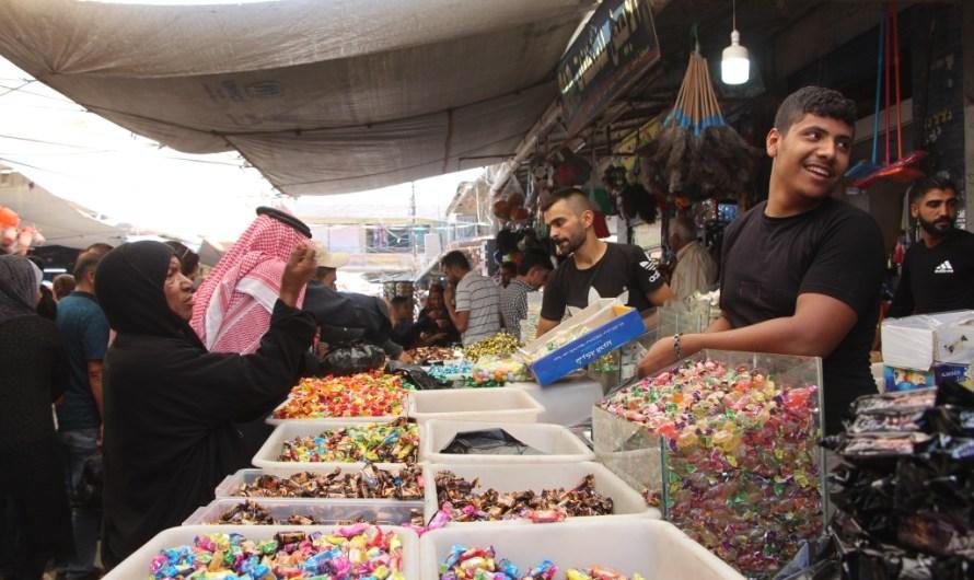 صور من احتفالات أهالي مدن شمال سوريا بعيد الأضحى