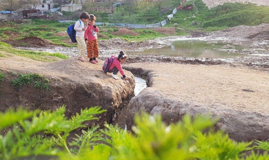 أين وصل مشروع استجرار مياه الفرات لارواء الأراضي الزراعية في كوباني؟