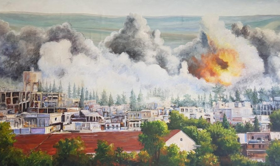 في الذكرى الخامسة لهجوم تنظيم الدولة الاسلامية على كوباني..الأكراد يتظاهرون من أجل عفرين