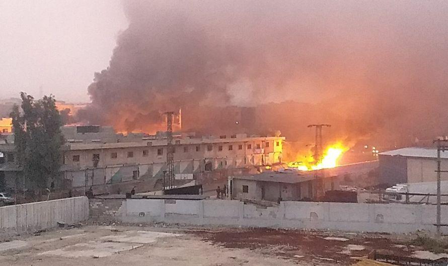 """تعرّضت للقصف من طائرات """"مجهولة"""" …مناطق خاضعة لتركيا شمال سوريا تشتعل"""