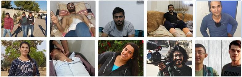تركيا تقتل وتصيب 20 عاملا بالصحافة والإعلام منذ 9 اكتوبر