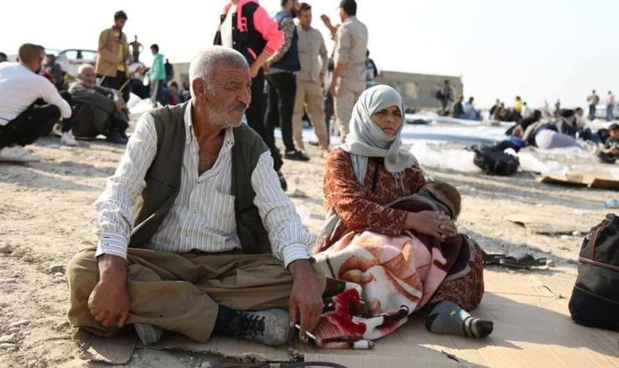 لاجئون في مخيم بردرش في إقليم كردستان يشكون من سوء الخدمات والإجراءات والإدارة