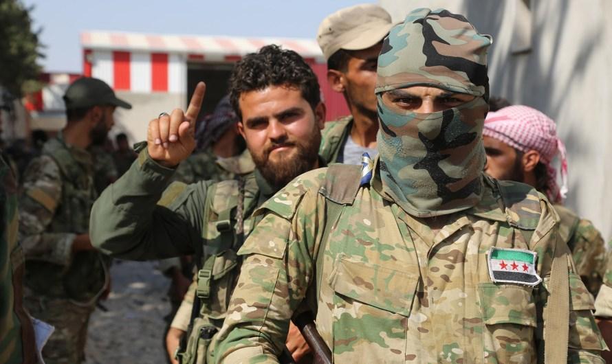 ارتفاع عدد قتلى والمصابين بين المسلحين الموالين لتركيا الى 1024 منذ الهجوم على شرق الفرات