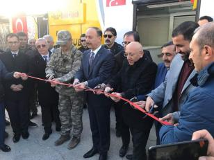 افتتاح مؤسسات تركية في تل ابيض