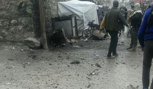 جريحان بانفجار عبوة ناسفة في مدينة عفرين شمال حلب