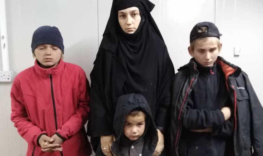 قوات الأمن تحبط هروب 4 من زوجات داعش وأطفالهن من مخيم الهول