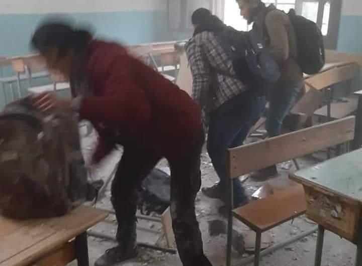 قتيل وجرحى نتيجة سقوط قذائف وسط مدينة عفرين