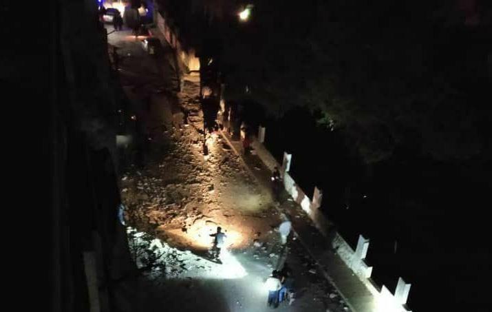 إصابة شخصين في سقوط قذائف وسط مدينة عفرين بريف حلب