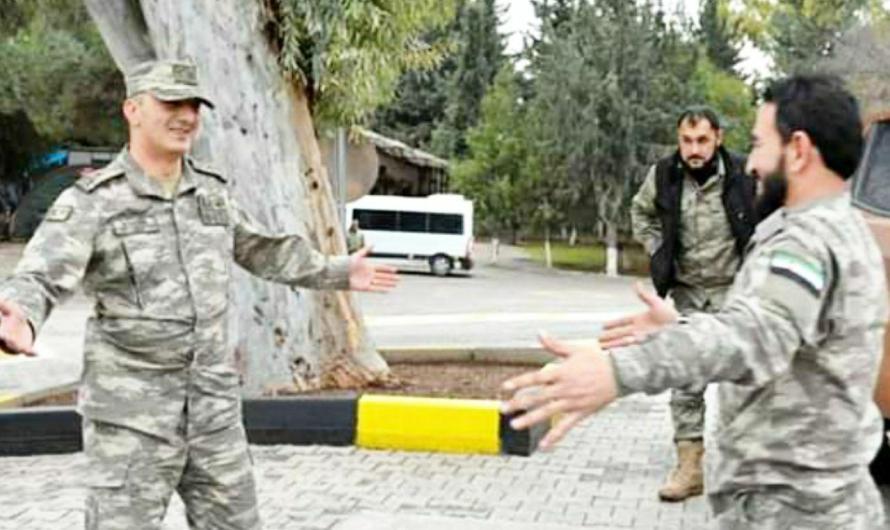 """هذه المرة """"غسالة"""" مسروقة….سبب اقتتال مسلح بين عناصر من فصيل موالي لتركيا في مدينة رأس العين غرب الحسكة"""