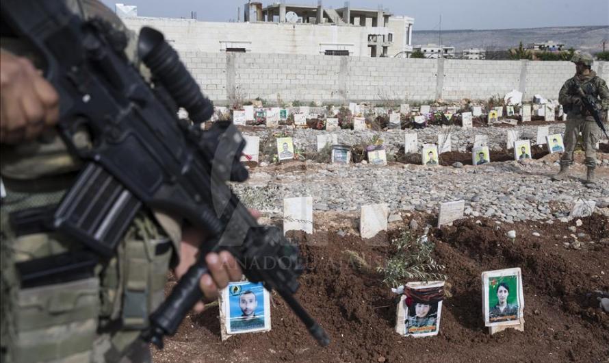 عفرين … شهادات عن مجزرة المحمودية التي قامت القوات التركية بجرف قبور ضحاياها