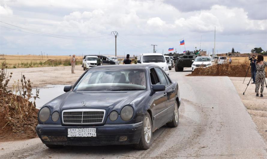 روسيا تنجح فيما عجزت عنه أمريكا …. افتتاح طريق M4 لأول مرة بعد سيطرة القوات التركية على جزء منه
