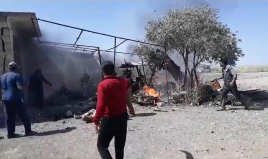 قتيلان و 8 جرحى حصيلة انفجارين في المناطق الخاضعة لتركيا شمال سوريا