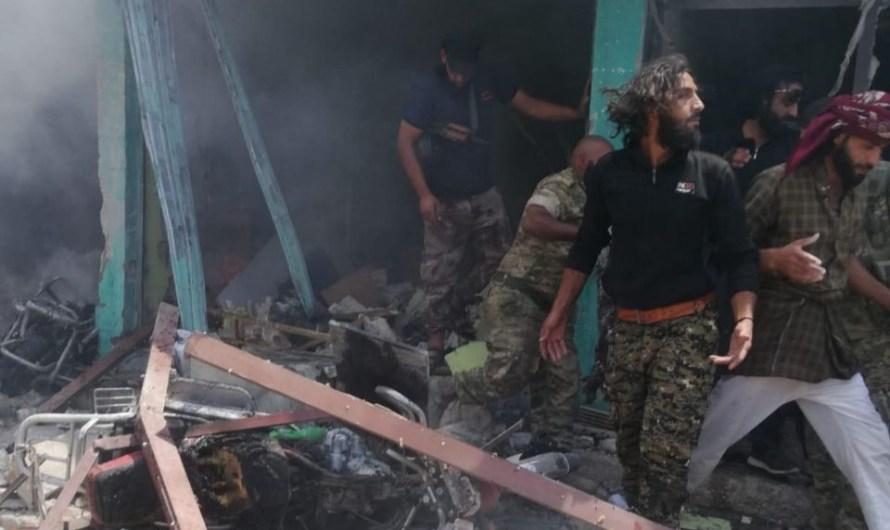 6 قتلى في انفجار سيارة مفخخة في قرية تل حلف بريف رأس العين