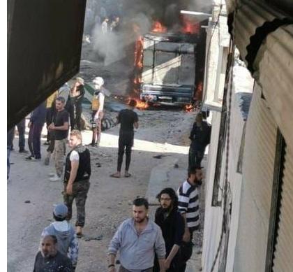 تركيا تفشل مجددا في حماية المدنيين.. قتلى وجرحى في انفجار سيارة ملغمة بناحية جندريسه في عفرين