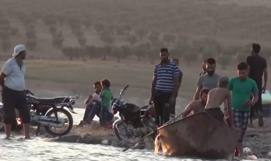 غرق ثلاثة أشخاص في نهر الفرات في الرقة
