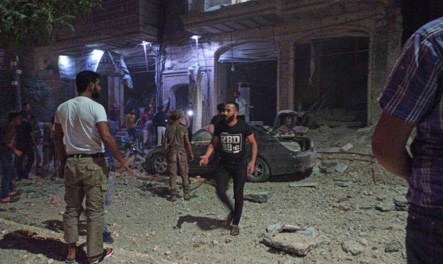 قتلى ومصابين في غارات روسية تستهدف مناطق خاضعة لتركيا شرقي حلب