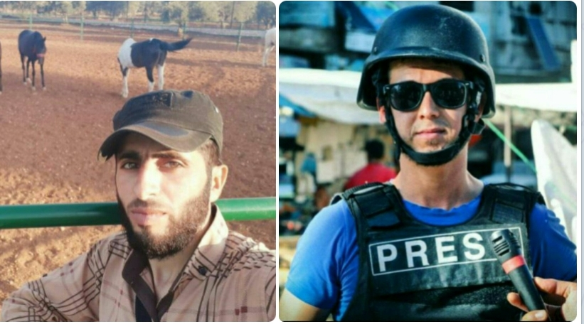 """""""فيلق الشام"""" يعتقل صحفيين اثنين في عفرين"""
