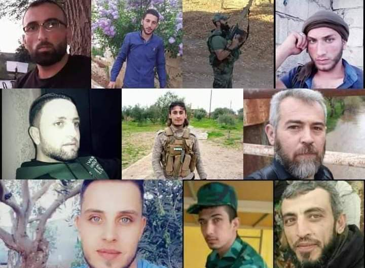 بالصور….توثيق أسماء قتلى عناصر الفصائل السورية الموالية لتركيا في أذربيجان