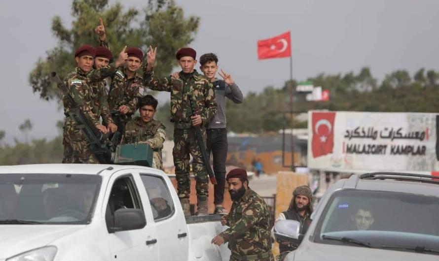 اعتقال 6 أشخاص بينهم امرأتان في مدينة تل أبيض من قبل مسلحين موالين لتركيا