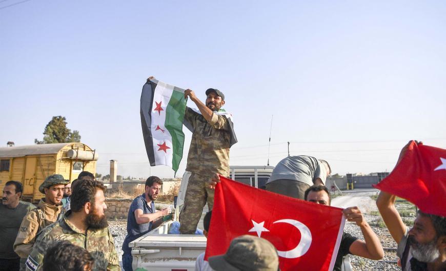 قتلى وجرحى في تجدد الاشتباكات بين المسلحين الموالين لتركيا في مدينة الباب بريف حلب