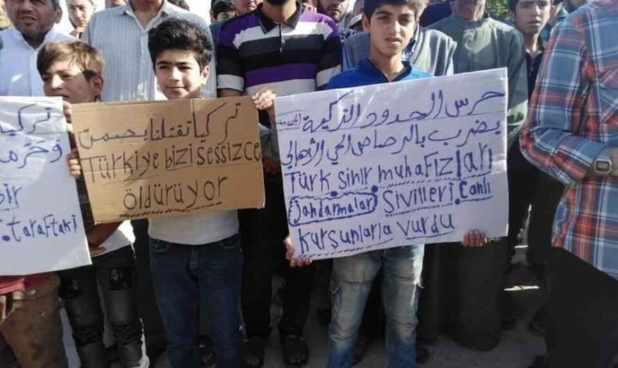رصاص «الجندرمة» التركية يمنع الزراعة في المناطق الحدودية شمال سوريا