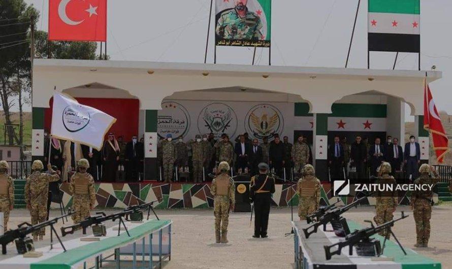 """دورة تدريبية لتخريج مقاتلين في مدينة رأس العين باسم """"مرتزق سوري"""" قتل في أذربيجان"""