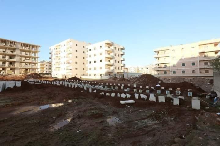 تحديث : تفاصيل جديدة عن المقبرة التي جرفتها القوات التركية في عفرين
