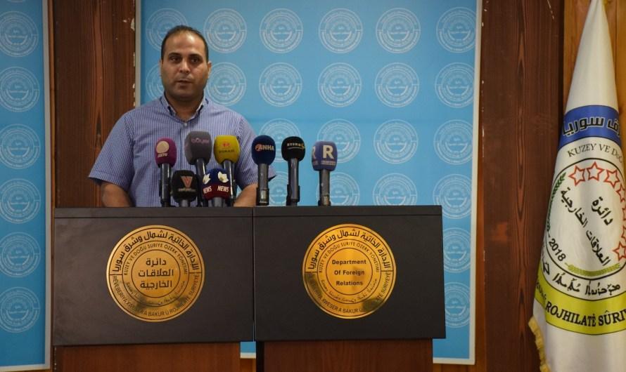 الإدارة الذاتية تطالب سلطات إقليم كردستان بالإفراج عن ممثلها في هولير المعتقل منذ 3 أشهر