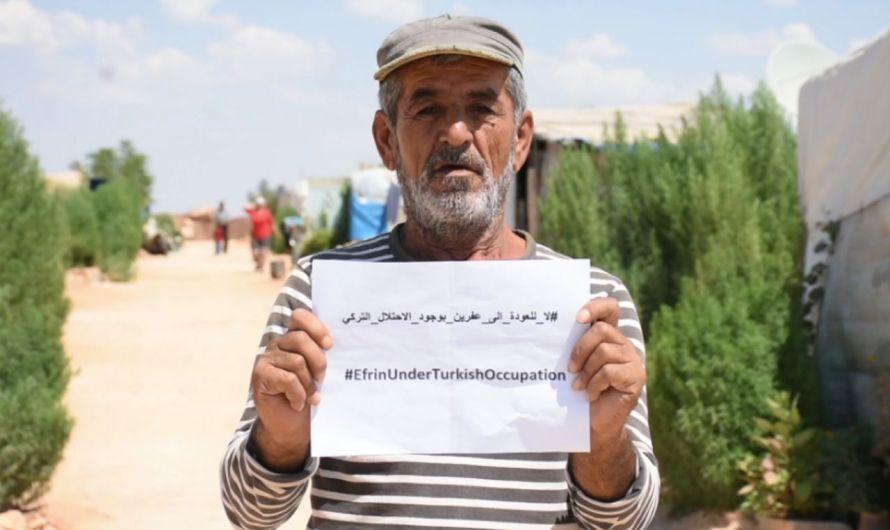 سوريا: 499 حالة اعتقال في عفرين من قبل المسلحين الموالين لتركيا منذ بداية 2021