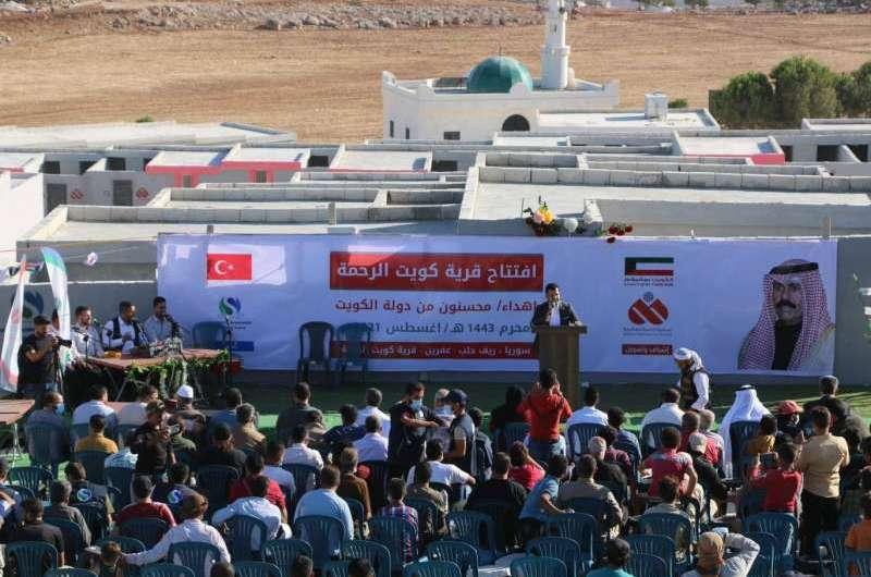 منظمات كويتية متورطة بدعم المستوطنات التركية شمال سوريا…. قدمت ملايين الدولارات لإنشائها