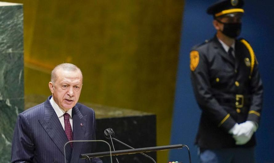 في كلمته بالجمعية العامة للأمم المتحدة … أردوغان يتبرئ من السوريين الذين ظل يواصل تحريضهم على القتال ضد نظامهم
