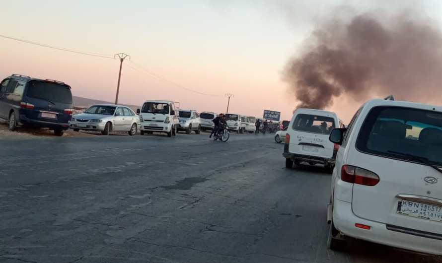 طائرة مسيرة تركية تستهدف سيارة مدنية في كوباني