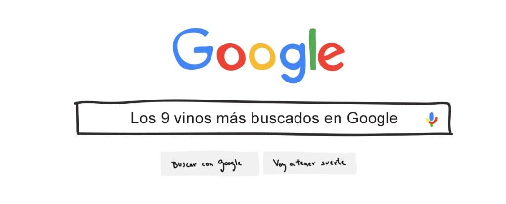 vinos más buscados en google